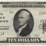 Daytona Beach 1929 type 1 $10