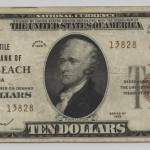 Miami Beach 1929 Type 2 $10